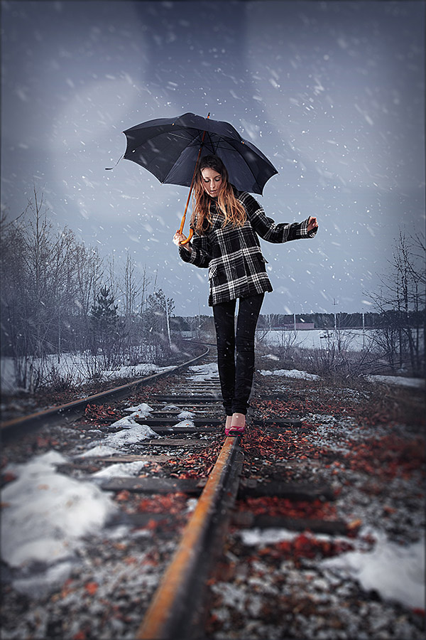 Link toHow to add realistic falling snow to a photo in photoshop