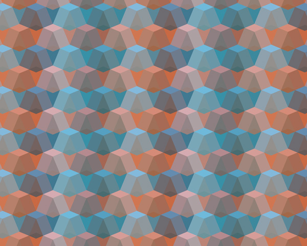 Create a colorful geometric pattern in photoshop