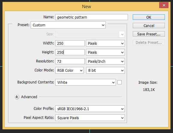 Create A Complex Repeating Geometric Pattern In Photoshop Classy How To Make A Pattern In Photoshop
