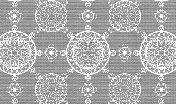 Link toCreate a complex, repeating, geometric pattern in photoshop
