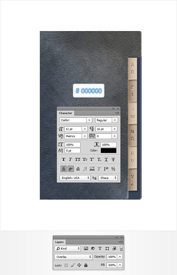 Create an Address Book Icon in Photoshop