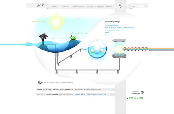 Illustrated Website