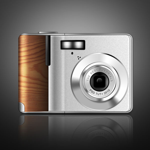 Link toCreate a digital camera with wooden accents using photoshop