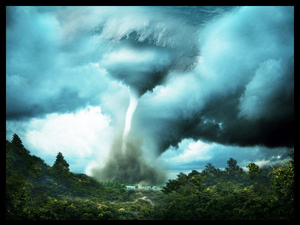Create a devastating twister with photo manipulation techniques