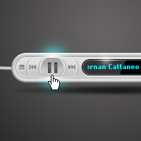 Preview for Create a Sleek and Stylish MP3 Player in Photoshop