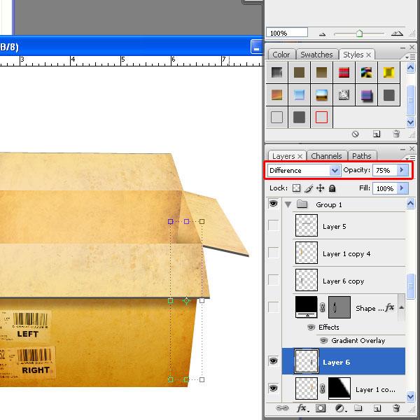 how to create a box using cardboard