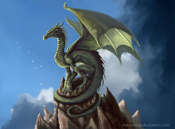 inspiration 50 digital dragon paintings. Black Bedroom Furniture Sets. Home Design Ideas