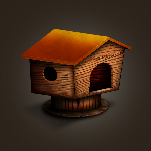 Link toCreate a wooden house icon in photoshop