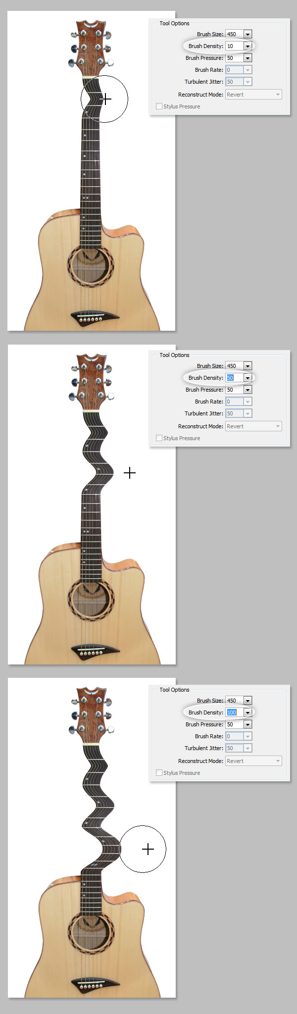 A comprehensive guide to photoshops liquify tool brush density baditri Choice Image