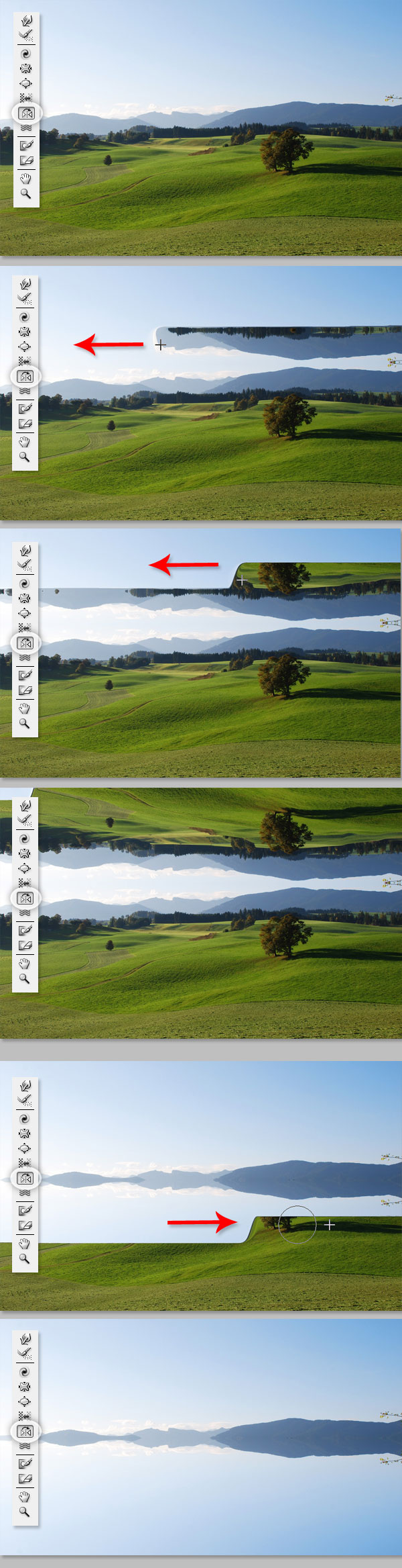 how to get liquify tool in photoshop