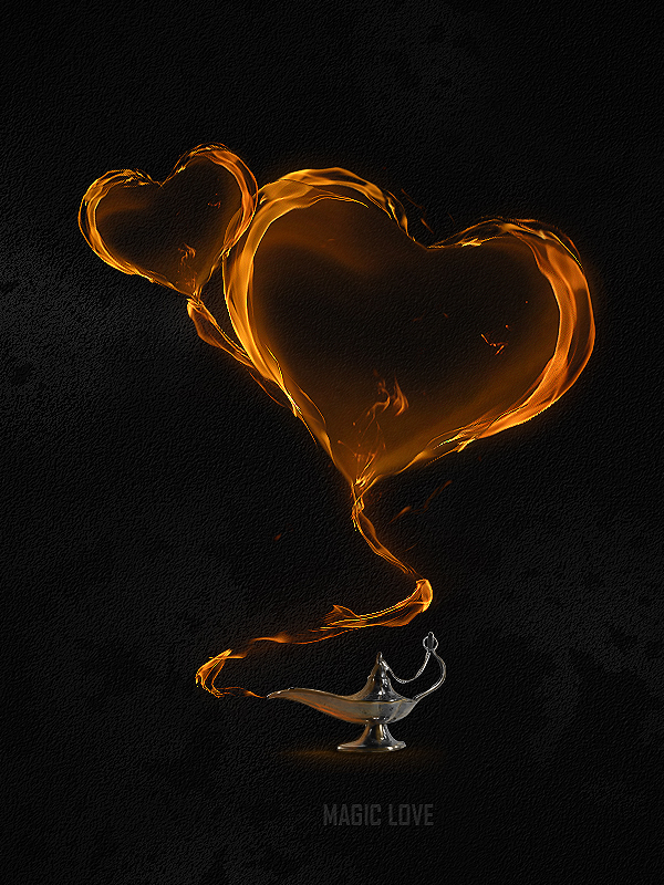 Link toCreate a magical flaming heart illustration in photoshop