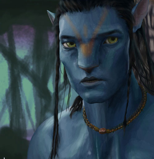 Avatar Movie Drawings: From The Silver Screen To Your Computer: Movie Fan Art To