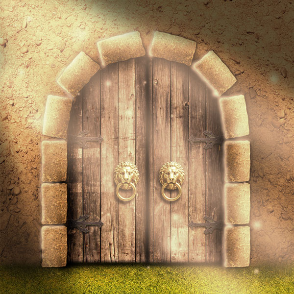 A medieval fantasy castle gate in photoshop create a medieval fantasy castle gate in photoshop toneelgroepblik Choice Image