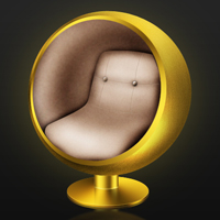 Preview for Create an Iconic Retro-Modern Ball Chair in Photoshop
