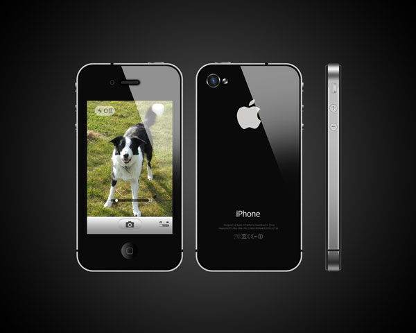 Link toCreate a photo realistic iphone in photoshop