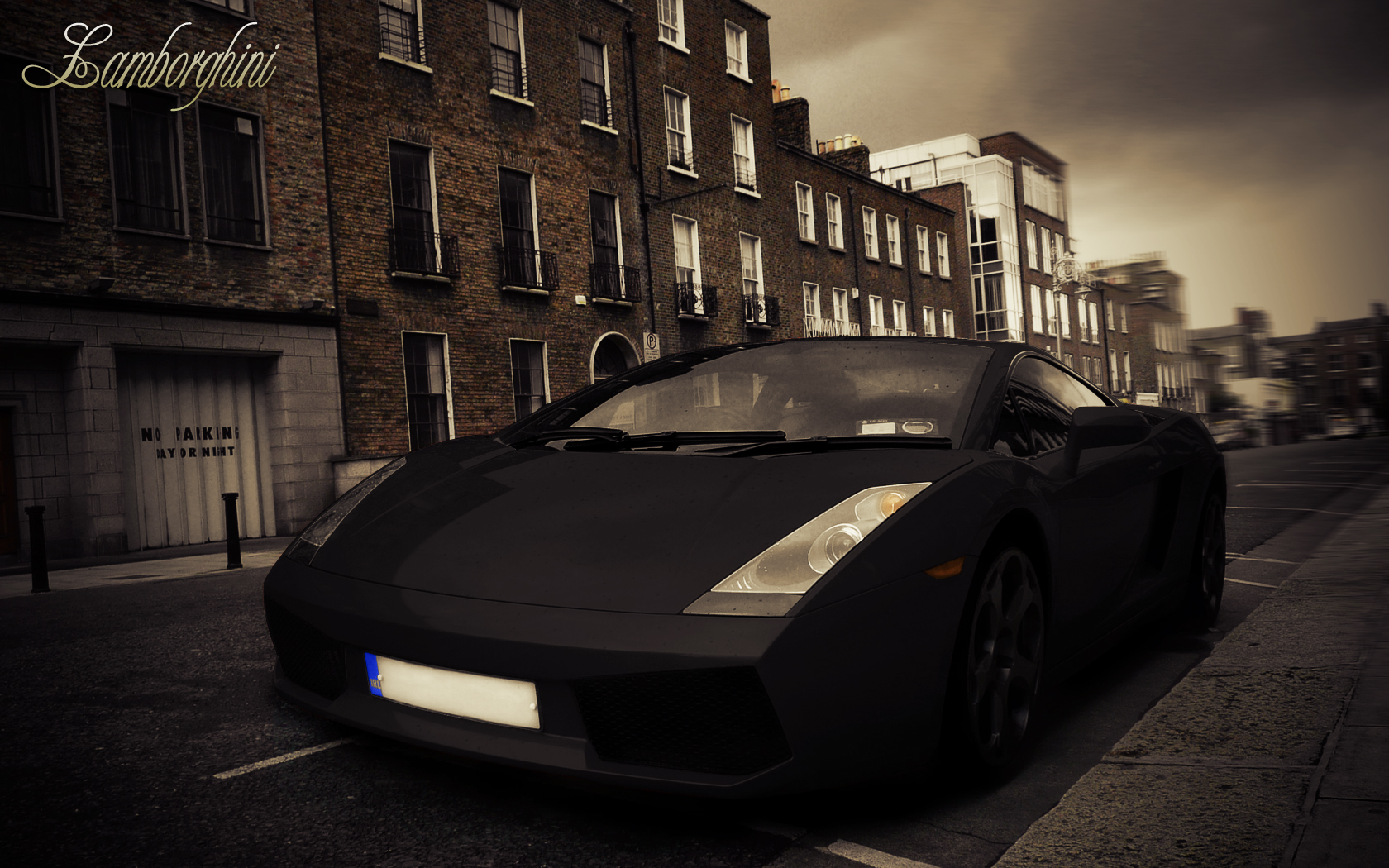 Give A Yellow Lamborghini A Paint Job In Photoshop