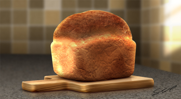 Link toCreate a realistic loaf of bread in photoshop