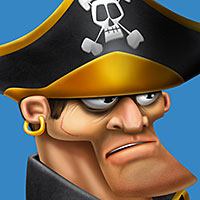 Preview for Draw a Pirate Character in Photoshop