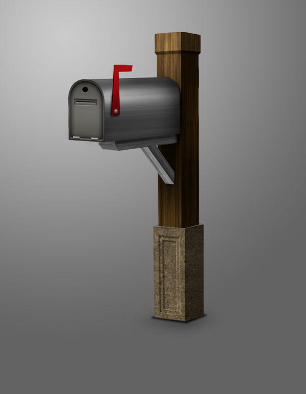 Link toDraw a 3d mailbox with photoshop