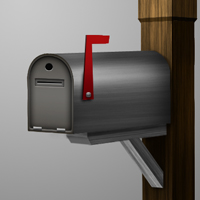 Preview for Draw a 3D Mailbox With Photoshop