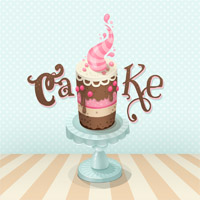Preview for Create a Colorful Cake Illustration in Photoshop