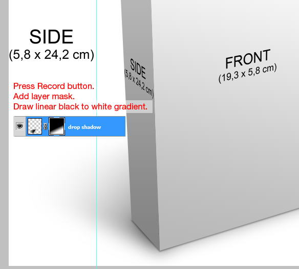 Create a 3D Software Box in Photoshop Using Actions