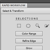 Preview for Speed Up Your Photoshop CS5 Workflow by Making Your Own Custom Panels