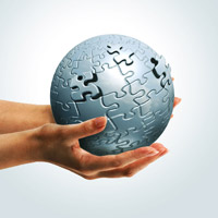 Create a Spherical 3D Puzzle With Photoshop