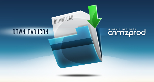 Link toCreate a download folder icon in photoshop