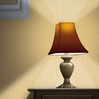 Preview for Use Photoshop to Create a Still-Life Lamp, Nightstand, and Picture Frame