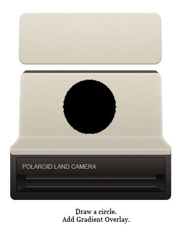 How To Draw A Vintage Polaroid Camera Icon