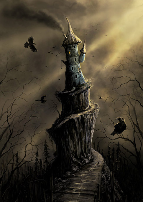 fantasy art wizard castle - photo #15