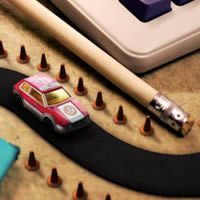 Preview for Use Photoshop CS6 to Create a Micro Machines Inspired Scene
