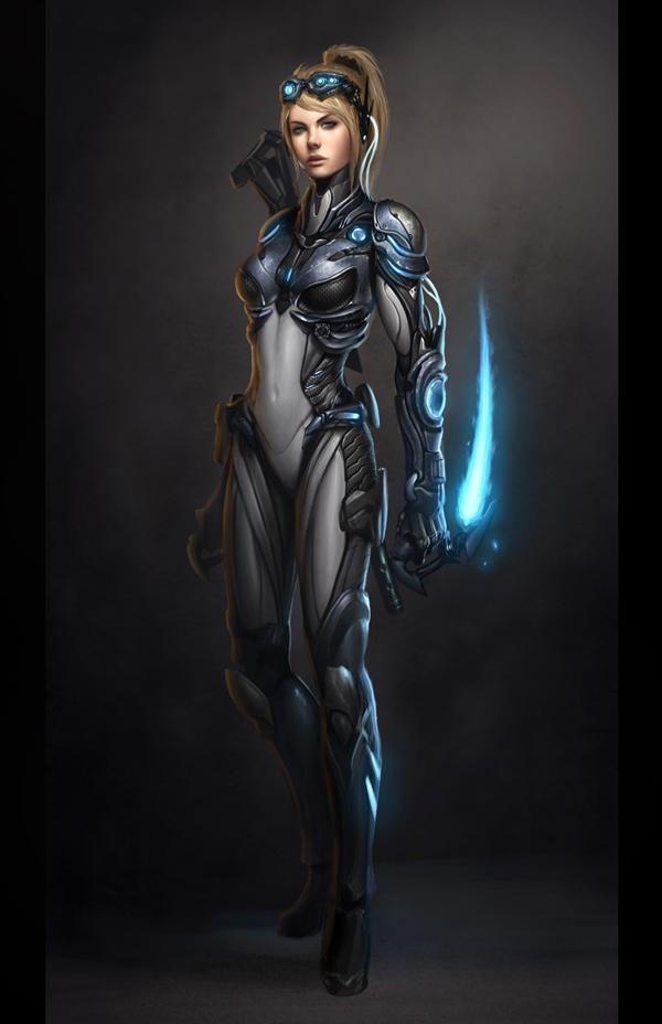 Epic StarCraft 2 Fan Art - Tuts+ Design & Illustration Article