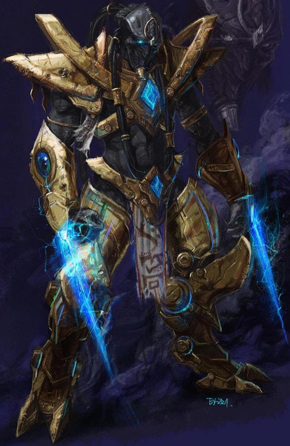 StarCraft 2 Protoss Zealot