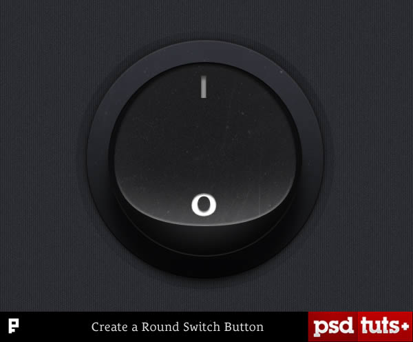 Quick Tip: Create a Round Switch Button in Photoshop