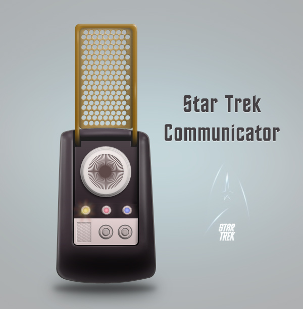 Link toCreate a star trek style communicator in photoshop