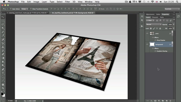 How to save and edit an action in photoshop