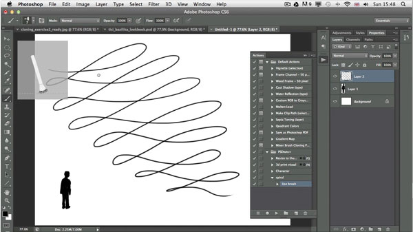 Photoshop CS6 includes new features that will allow you to include ...