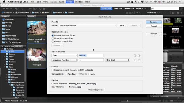 Link toHow to automate tasks in photoshop