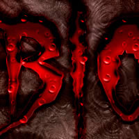 Blood text effect preview