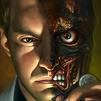 "Preview for Create a ""Two-Faced"" Digital Painting in Photoshop"