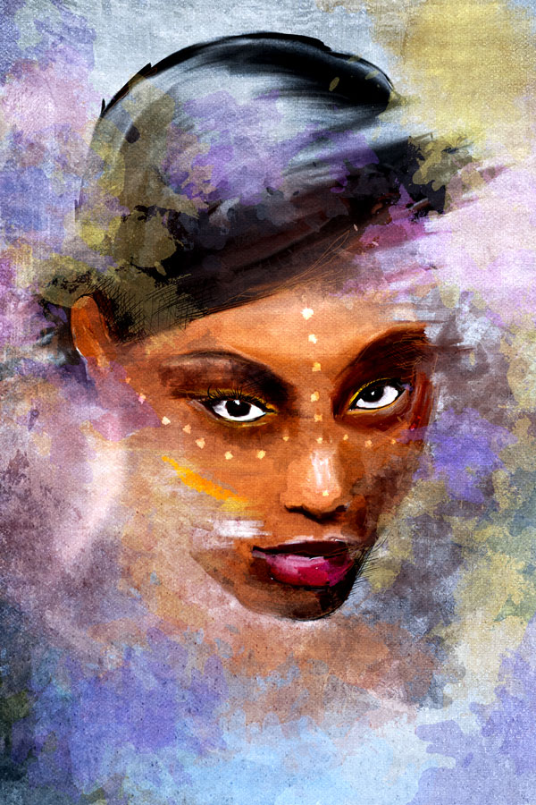 Photo effects week turn a portrait photo into a painting final image fandeluxe Image collections