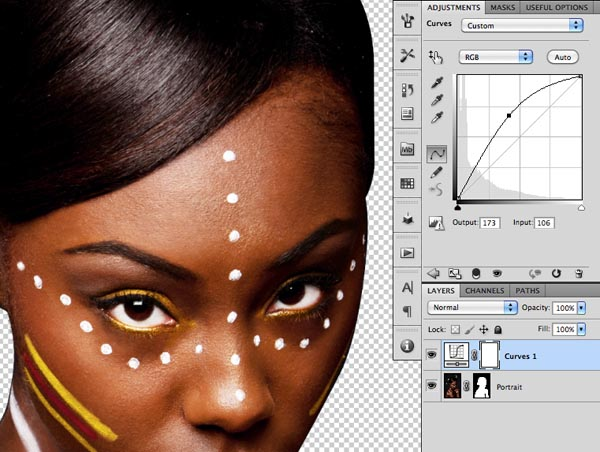 how to create a clipping mask in indesign cs4