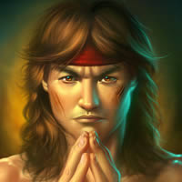 "Preview for Create Fan Art for Mortal Kombat's ""Liu Kang"" in Photoshop"