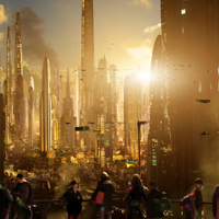 Preview for Futuristic Cityscapes by Scott Richard