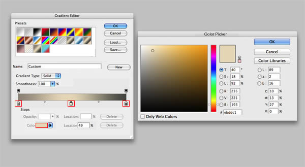 Once Youve Chosen Your Colors Click On New And Itll Add It To Gradient List Then OK Use Through The Tool G