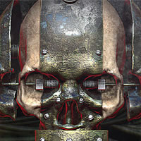 Preview for Create a Rusty and Worn Metallic Textured Skull Using 3D Renders