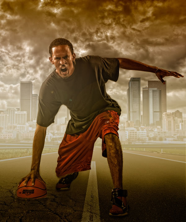 Photoshop compositing secrets: create a studio sports portrait