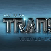 "Preview for Quick Tip: Create a ""Transfarmers"" Text Effect Using Layer Styles in Photoshop"